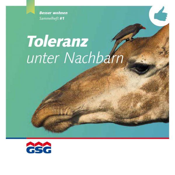 GSG Mieterheft 2014 01 Toleranz Titel