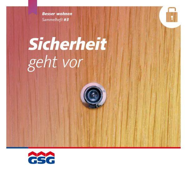 GSG Mieterheft 2014 03 Sicherheit Titel
