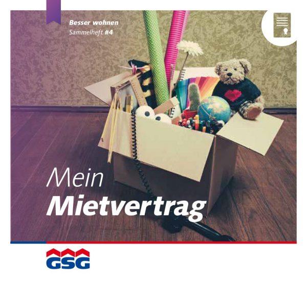 GSG Mieterheft 2015 04 Mietvertrag Titel