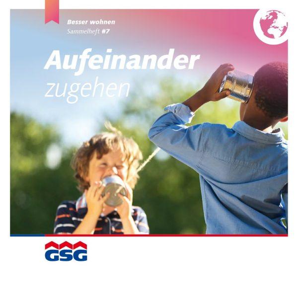 GSG Mieterheft 2016 07 Integration Titel