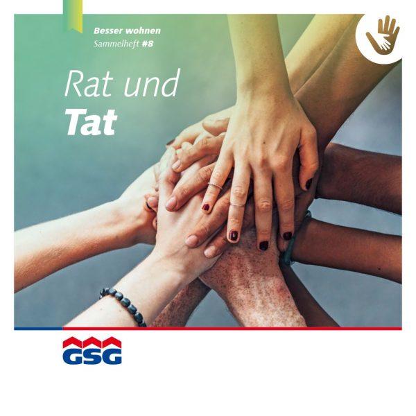 GSG Mieterheft 2018 08 Rat und Tat Titel