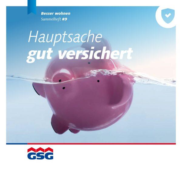GSG Mieterheft 2019 09 Versicherungen Titel