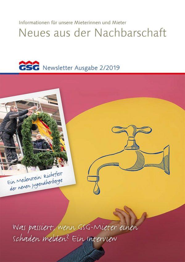 GSG Newsletter 02 2019 Titel