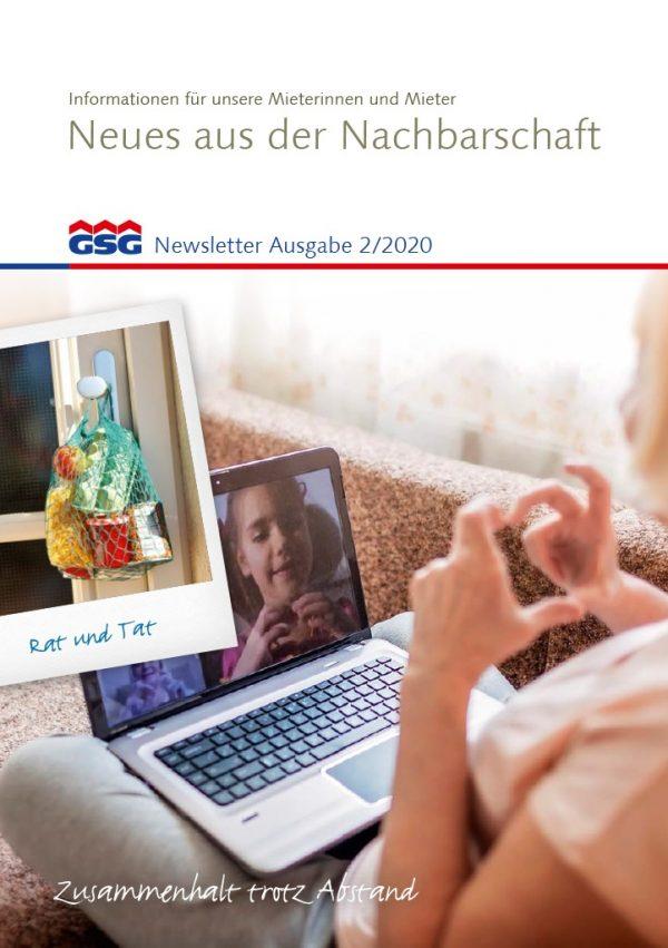 GSG Newsletter 02 2020 Titel