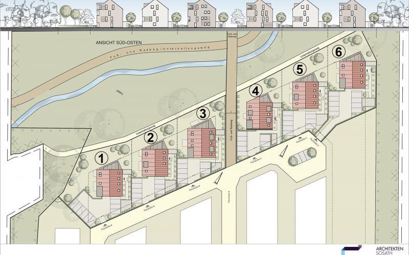 Lageplan Haus 1 6 bereinigt Nummer